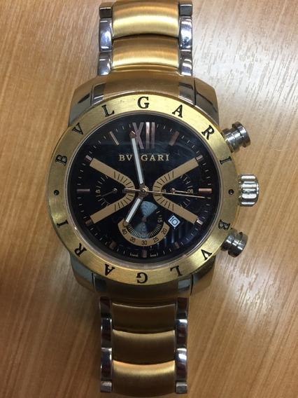 Relógio Bvlgari Dourado Masculino - Semi Novo