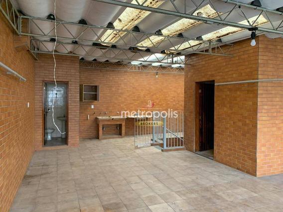 Sobrado À Venda, 300 M² Por R$ 700.000,00 - Cerâmica - São Caetano Do Sul/sp - So0610