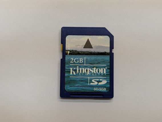 Cartão De Memória Sd Kingston 2gb Tf / R022k