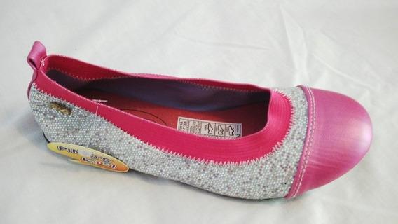 Oferta Zapatos De Niña Pintos Kids Talla 33 Escarchados Fp
