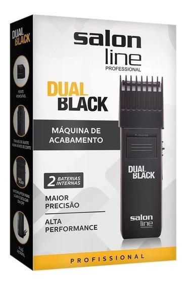 Máquina De Finalização Dual Black Salon Line Cabelo Barba