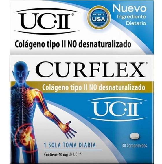 Curflex Colageno Tipo Ii No Desnaturalizado Artrosis 30 Comp