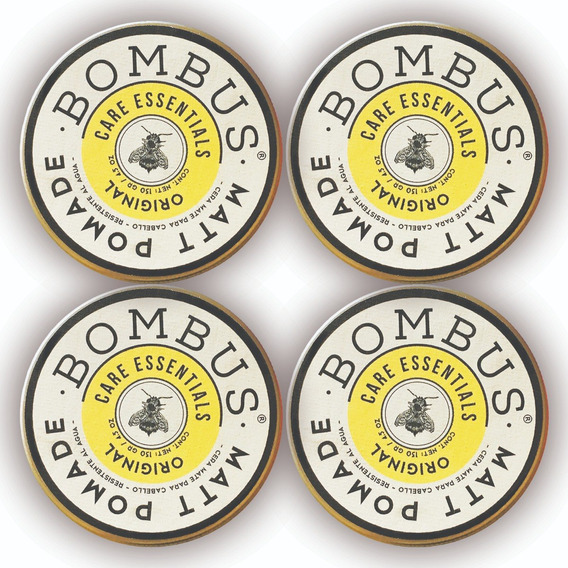 Bombus® Original Matt Pomade. (130 Gr) X 4 Unidades.