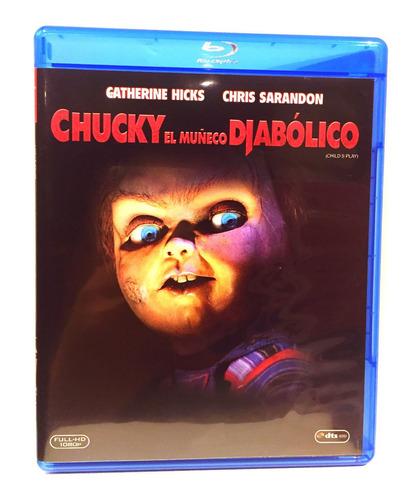 Chucky El Muñeco Diabólico Childs Play Nuevo  Bluray