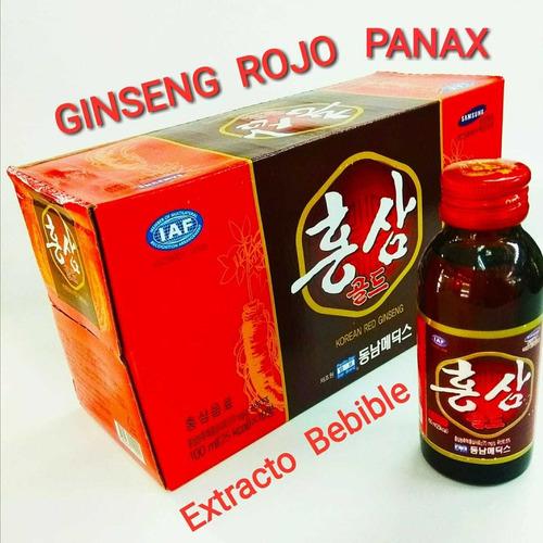 Panax Ginseng Rojo Coreano  - Extracto B - L a $16