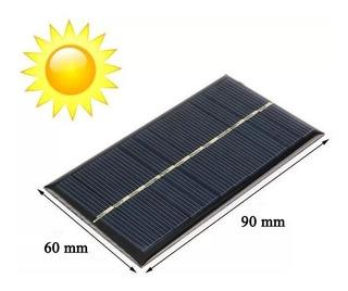 Celda Panel Solar Fotovoltaico 6v 100mah Max 120mah 650mw