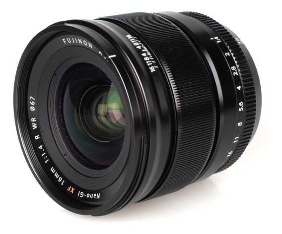 Lente Fujinon Xf 16mm F1.4 R Wr Zerada Para Fujifilm