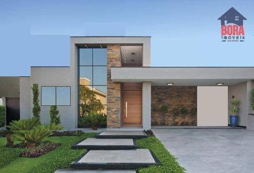Casa Em Condominio Figueira Garden Em Atibaia - Ca0574