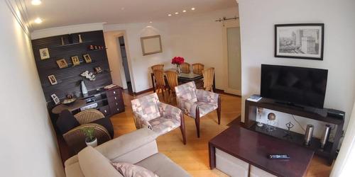 Apartamento Com 3 Dormitórios Sendo 1 Suíte E 2 Vagas À Venda, 95 M² Por R$ 700.000 - Santana (zona Norte) - São Paulo/sp - Ap8332