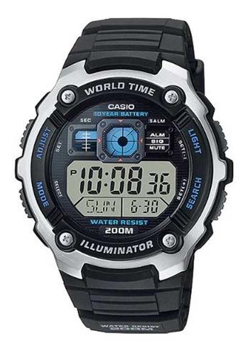 Relógio Casio Masculino Illuminator Ae-2000w-1avdf