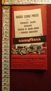 Manual Catalogo Goodyear Pneus 1947 V10