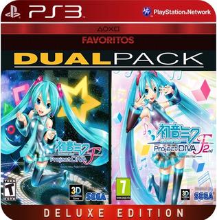 Hatsune Miku:project Diva F 1 Y 2nd Ps3 Digital Disponible