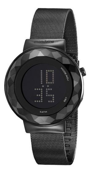 Relógio Feminino Mondaine 32006lpmvpe3 42mm Aço Preto