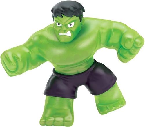 Imagem 1 de 2 de Boneco Marvel Hulk  Figura Squishy  Heroes Of Goo Jit Zu