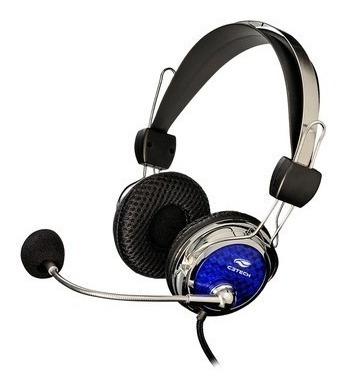 Fone De Ouvido Gamer C3tech Com Microfone Pterodax
