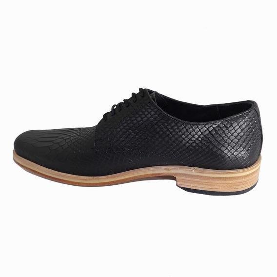 Calzado Zapato De Hombre De Cuero - Calzados Union - Art 980