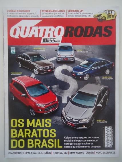 Quatro Rodas #675 Out-2015 Os Mais Baratos Do Brasil