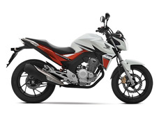 Honda Cb250 Twister Blanca 2018 0km