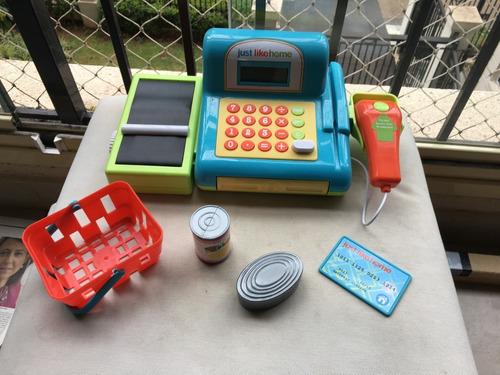 Caixa Registradora Brinquedo P/ Brincar Infantil Acessórios