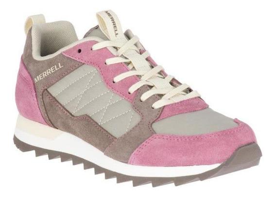Zapatos Mujer Merrell Alpine Sneaker Erica/falcon Active
