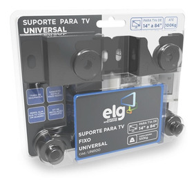 Suporte Fixo Universal Tv 14 A 84 Uni100 - Elg
