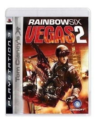 Tom Clancys Rainbow Six Vegas 2 Ps3 Mídia Física