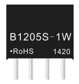 B1205s 1w Conversor Isolador Dc/dc