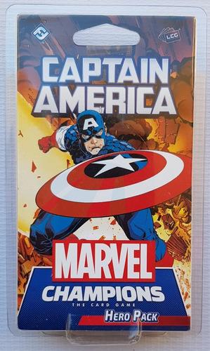 Marvel Champions Card Game Captain America Hero Pack Nuevo !