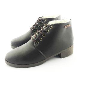Tênis Quality Shoes Flatform 009 Animal Print E Preto
