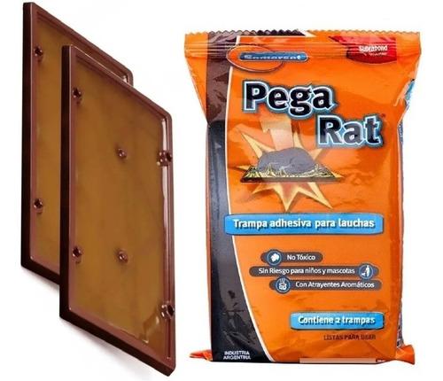 Imagen 1 de 10 de 2 Trampa Adhesiva Pegamento Mata Laucha Sin Veneno Pega Rat