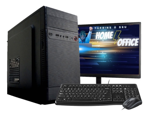 Pc Computador Completo Core I3 4gb Hd 500gb Wifi Monitor