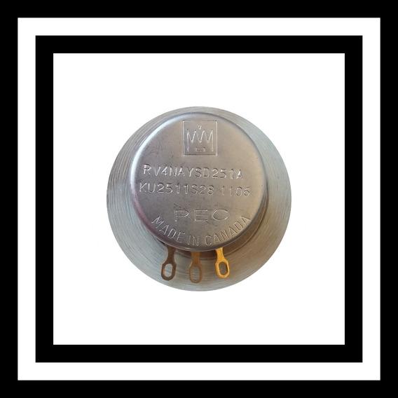 Potenciometro Pec 250 Ohms Mod. Rv4naysd251a