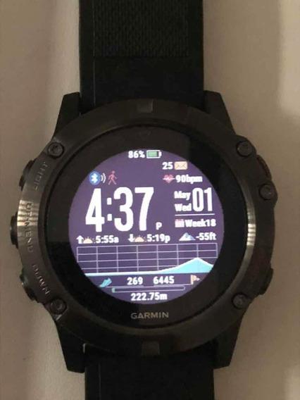 Relógio Garmin Fênix 5x Safira