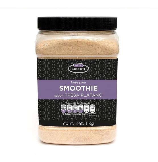 Smoothie 1 Kg Frutale Base Leche Varios Sabores