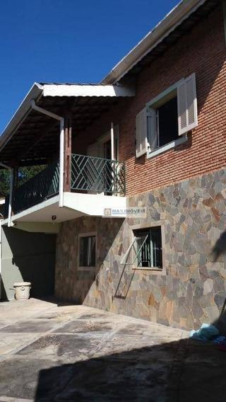Sobrado Com 2 Dormitórios À Venda, 375 M² Por R$ 750.000 - Jardim Tapajós - Atibaia/sp - So0036