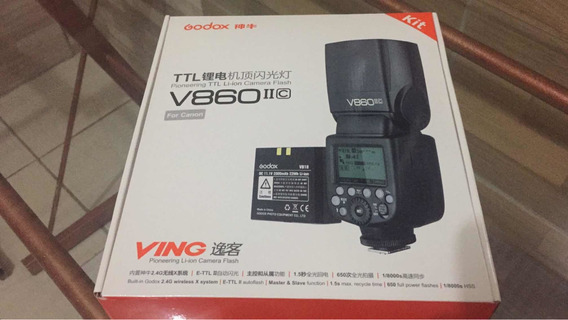 Flash Godox V860ii Canon