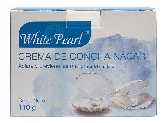 Crema Concha Nácar White Pearl 110gr