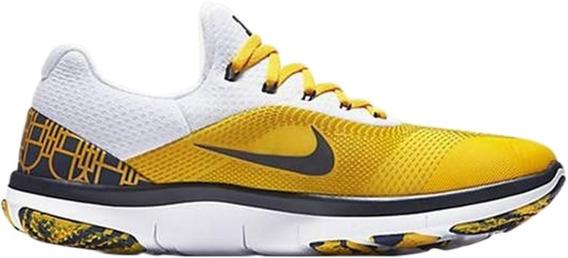 Tenis Nike Free Trainer V7 Week Zero Michigan 27.5 Aa0881