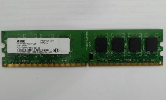 Memória Smart 1 Giga Ddr2 667mhz Para Pcs Com Garantia