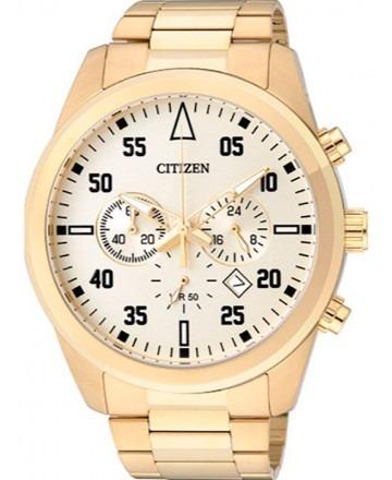 Relógio Masculino Analógico Citizen Tz30795g Dourado