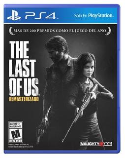 The Last Of Us Remastered Audio Latino Nuevo Sellado Origina