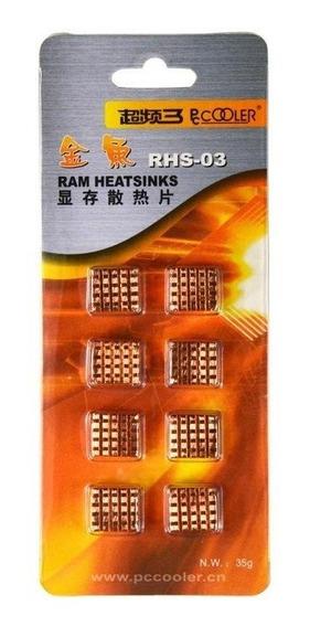 Dissipador De Calor Cobre Para Raspberry Pi Pi3 X8