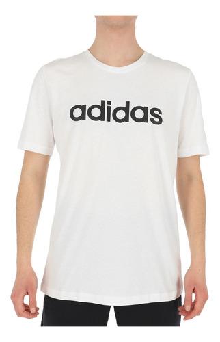 Imagen 1 de 4 de Polera adidas Essentials Hombre White