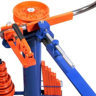 Dobradeira De Cano E Metalon Quadrado De Ferro Calandra Dt6