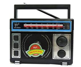 Atacado Kit 10 Radios Songstar Ss2402u.usb,fm,recarregável.