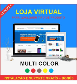 Script Php Loja Virtual E-commerce Instalada E Customizada
