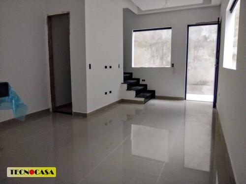 Imagem 1 de 16 de Sobrado Com 2 Dormitórios À Venda, 50 M² Por R$ 245.000,00 - Maracanã - Praia Grande/sp - So2308