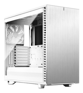 Gabinete Gamer Fractal Design Define 7 Clear Blanco