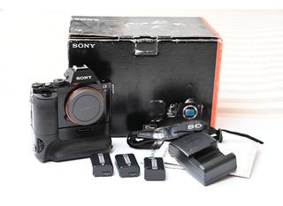 Camara Sony A7 Full Frame Grip Original Y 3 Baterias