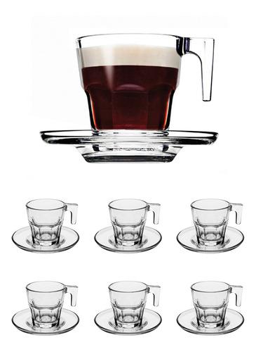 Juego De Tazas Para Café Con Pocillos 12 Piezas En Oferta